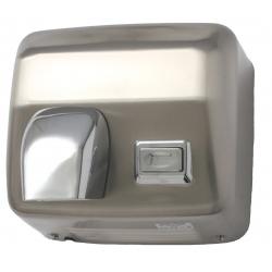 Secador de mãos em inox satinado