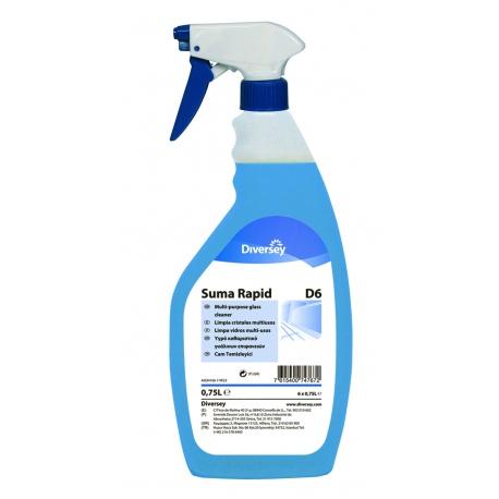 Suma Rapid D6 (6 x pulverizador 750 ml)