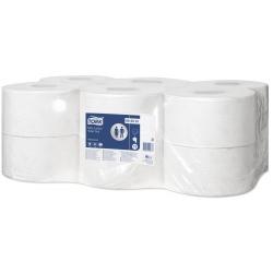 Papel higiénico Jumbo normal (12 rolos x 130 m)