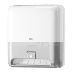 Dispensador com sensor de toalhas de mãos em rolo H1 branco