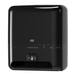 Dispensador com sensor de toalhas de mãos em rolo H1 preto