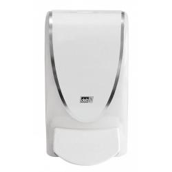 Doseador de sabonete líquido proline branco ( c/ banda cromada)