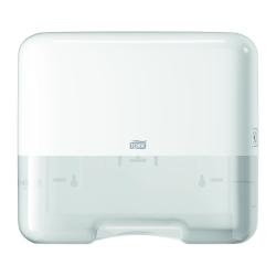 Dispensador mini de toalhas de mãos dobradas H3 branco