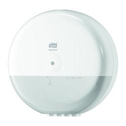 Dispensador de papel higiénico Jumbo T8 branco