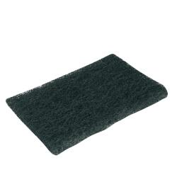 Esfregão cortado preto (emb. 10 uni)