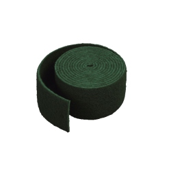 Esfregão em rolo verde