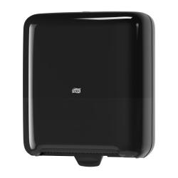 Dispensador de toalhas de mãos em rolo H1 preto