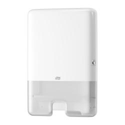 Dispensador de toalhas de mãos interfolha H2 branco