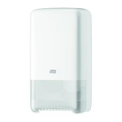 Dispensador de papel higiénico Jumbo médio T6 branco