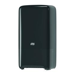 Dispensador de papel higiénico Jumbo médio T6 preto